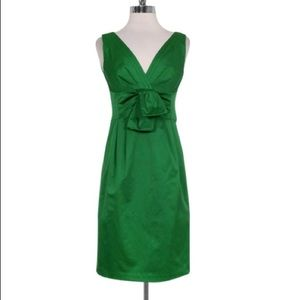 Emerald green cocktail dress by Nanette Lepore
